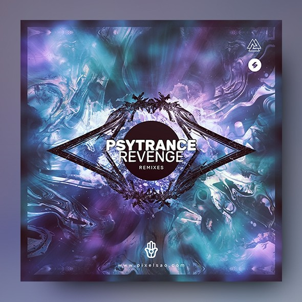 Psytrance Revenge – Album Cover Artwork Template