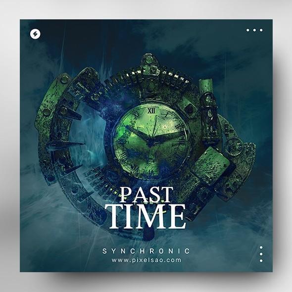 Past Time – Music Album Cover Artwork Template