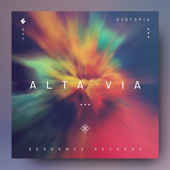 Alta Via – Music Album Cover Artwork Template