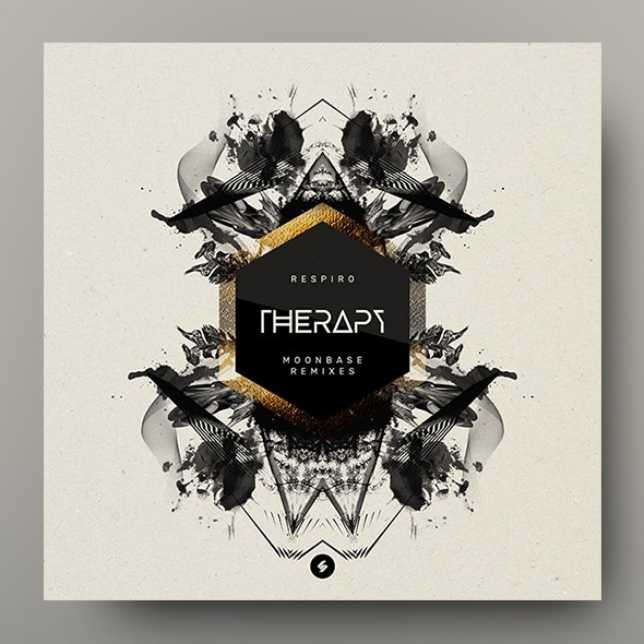 Therapy – Music Album Cover Artwork Template