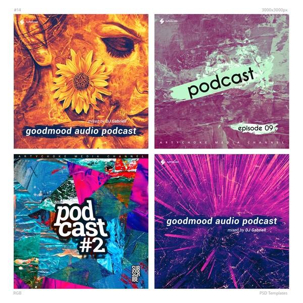 Music Album Cover Artwork Templates Pack 14