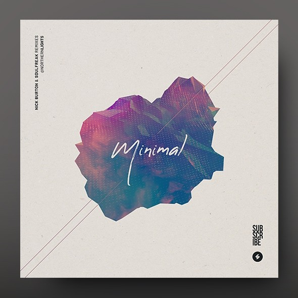 Minimal – Music Album Cover Artwork Template