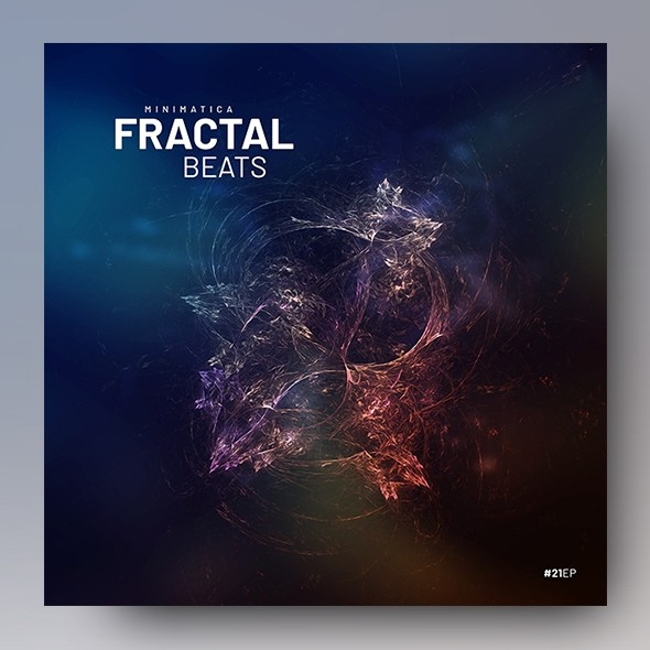 Fractal Beats – Music Album Cover Template