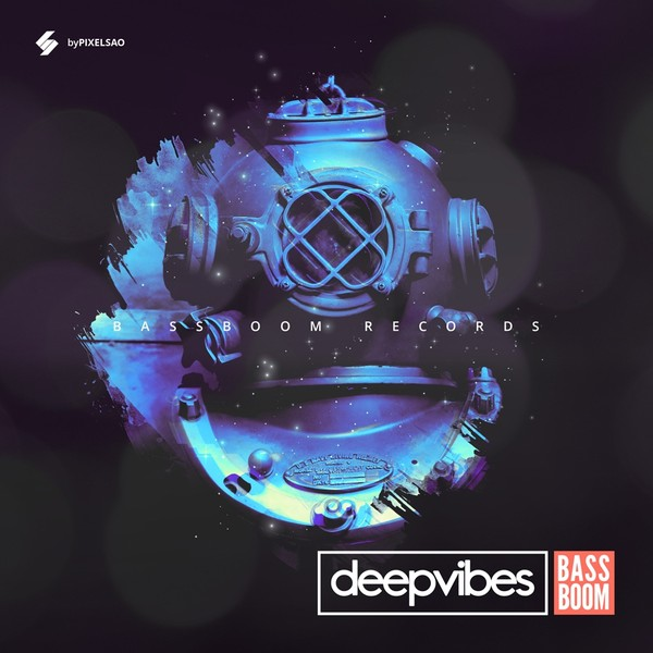 Deep Vibes - Music Album Cover Template