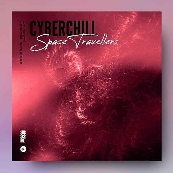 Cyberchill – Music Album Cover Artwork Template