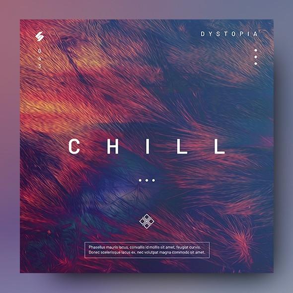 CHILL – Music Album Cover Artwork Template