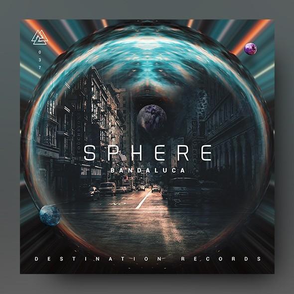 Sphere - Music Album Cover Artwork Template