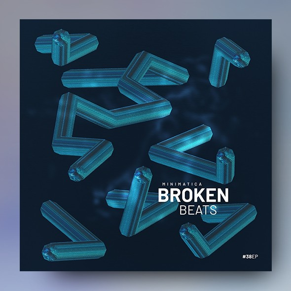 Broken Beats – Music Album Cover Template