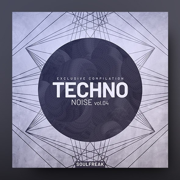 Techno Noise vol.4 – Music Album Cover Template