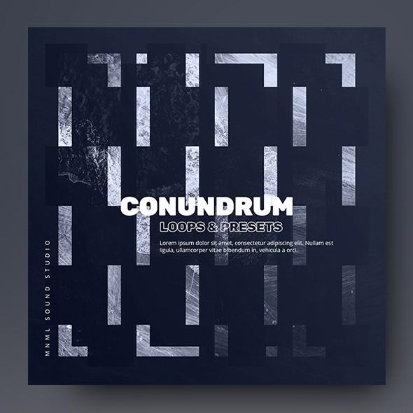 Conundrum - Music Album Cover Artwork Template