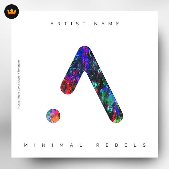 Minimal – Music Album Cover Artwork (Exclusive license)