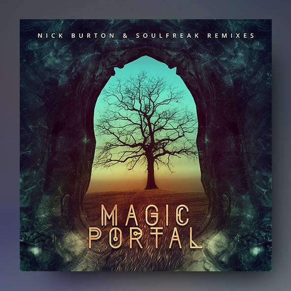 Magic Portal – Music Album Cover Artwork Template