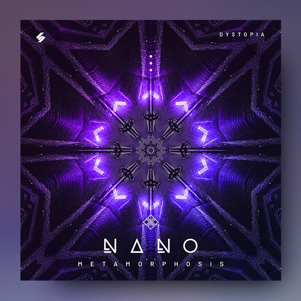 Nano – Electronic Music Album Cover Template