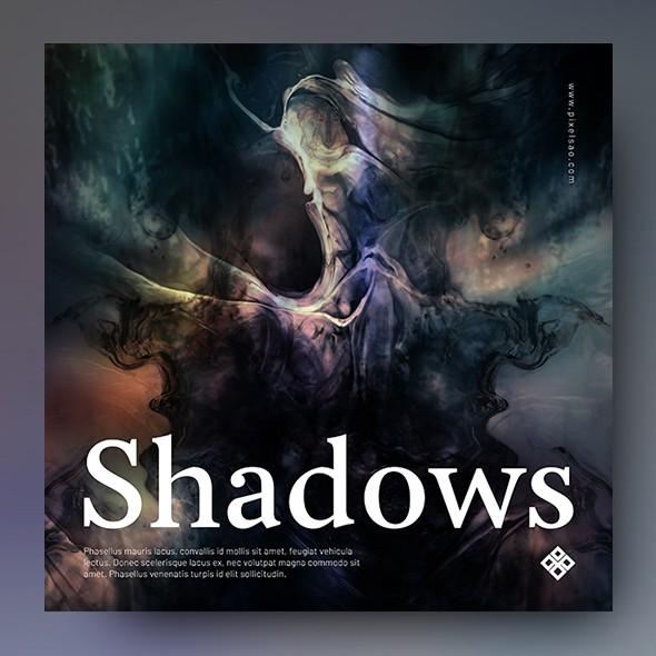 Shadows – Music Album Cover Template