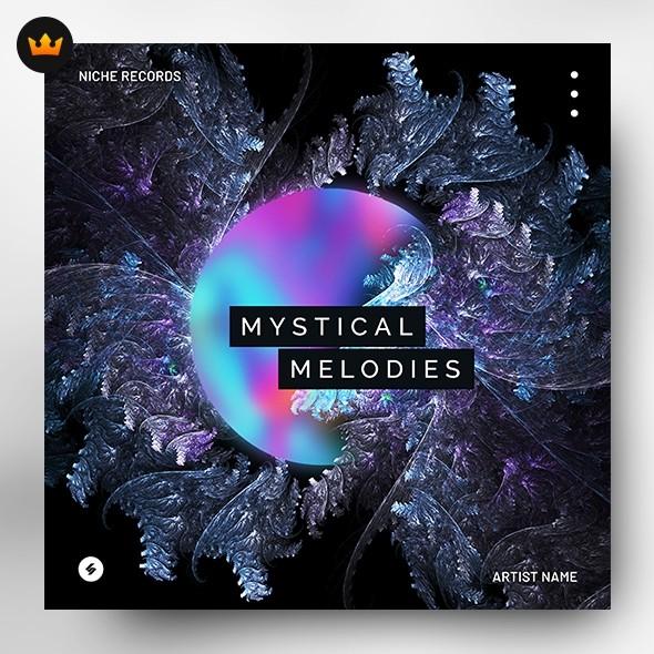 Mystical Melodies – Music Album Cover Artwork (Exclusive license)