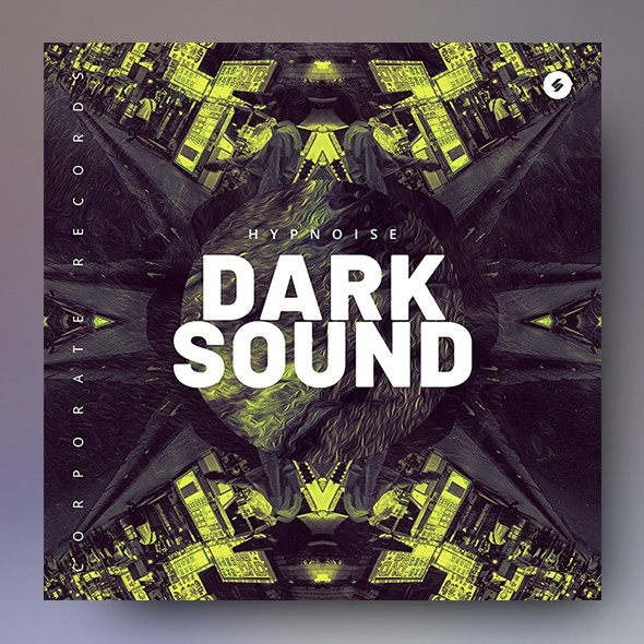 Dark Sound – Music Album Cover Artwork Template