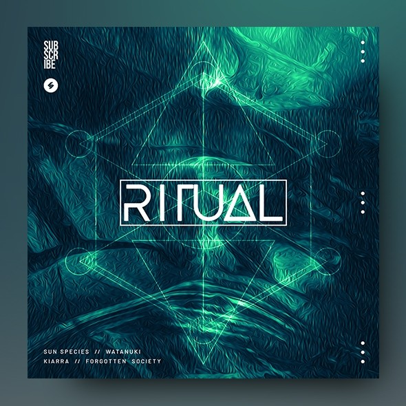 Ritual – Music Album Cover Artwork Template