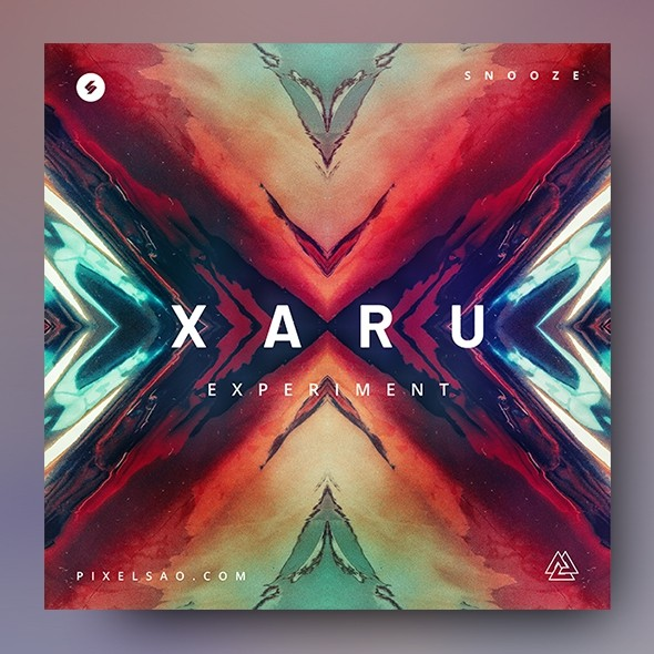 Xaru – Music Album Cover Artwork Template