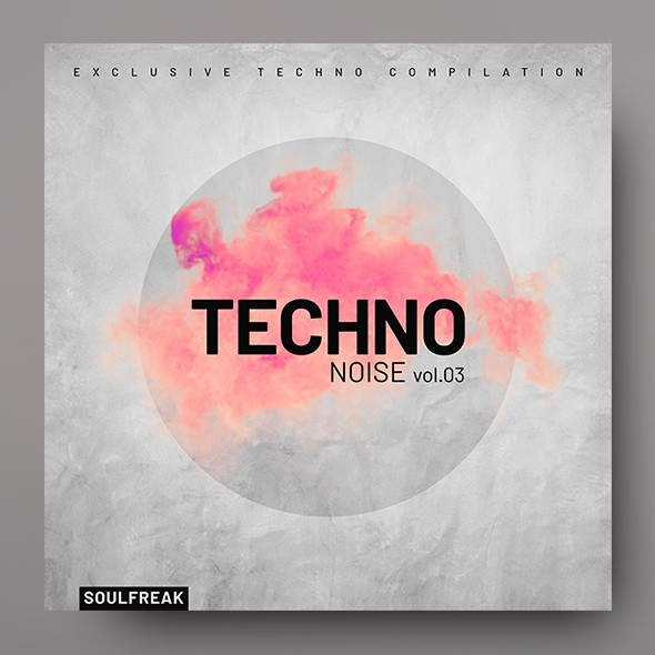 Techno Noise vol.3 – Music Album Cover Template