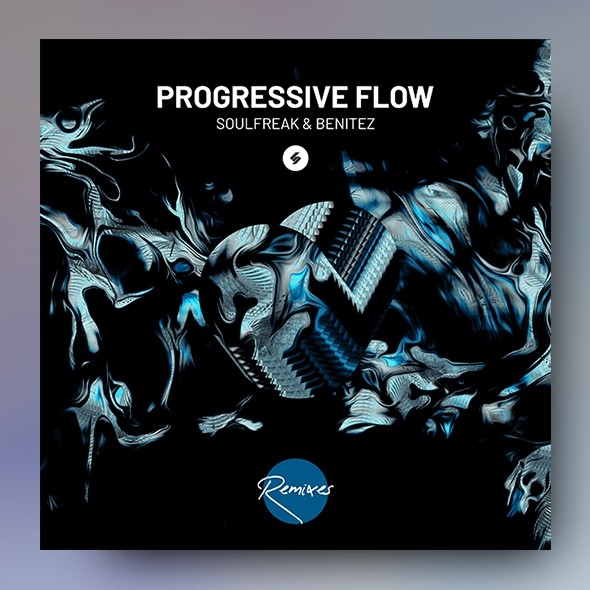 Progressive Flow – Music Album Cover Art Template