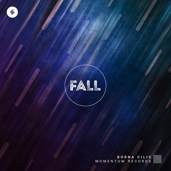 FALL - Minimal Album Cover Artwork PSD Template
