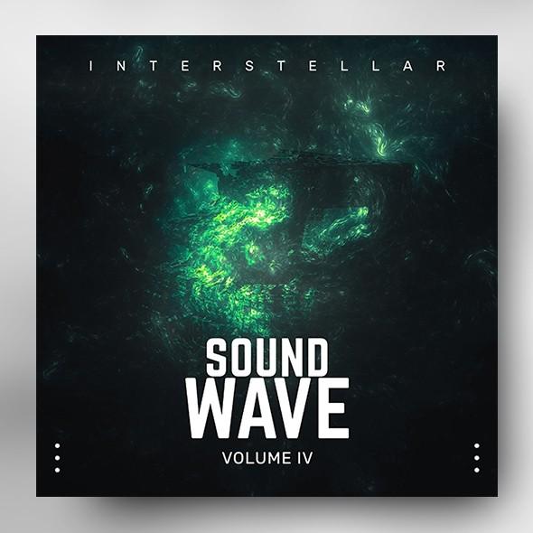 Sound Wave vol.4 – Music Album Cover Psd Template