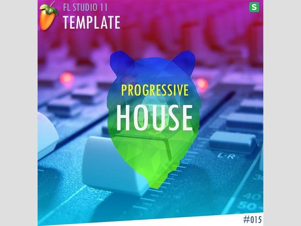 FL STUDIO // EDM TEMPLATE - Progressive House #15 FLP