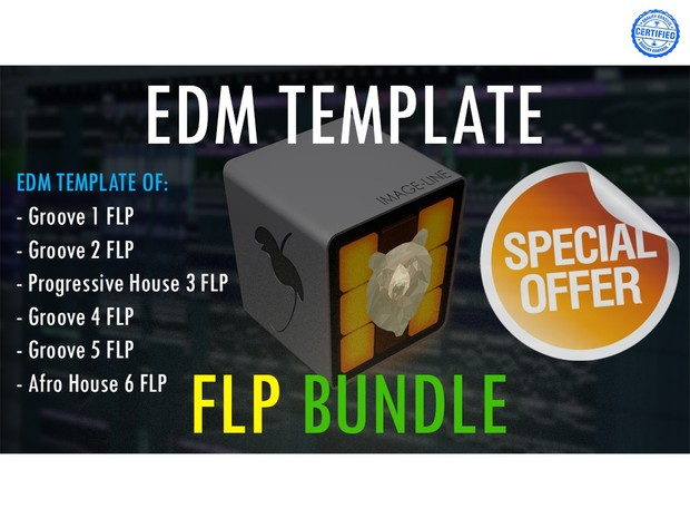 EDM TEMPLATE - FLP BUNDLE