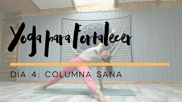 Yoga para Fortalecer - Dia 4