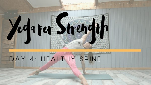 Yoga for Strength - Day 4
