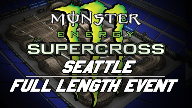 2018 Monster Energy Supercros Round 13 Seattle HD 720p