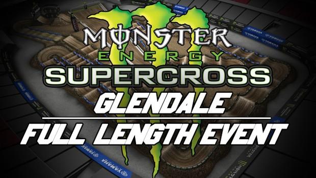 2018 Monster Energy Supercross Round 4 Glendale HD