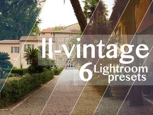 6 VINTAGE LIGHTROOM PRESETS   for raws & jpegs   CASIMIR