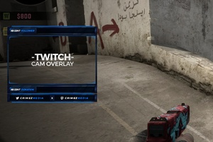 #9 Stream Cam Overlay inkl. PSD (Blue)