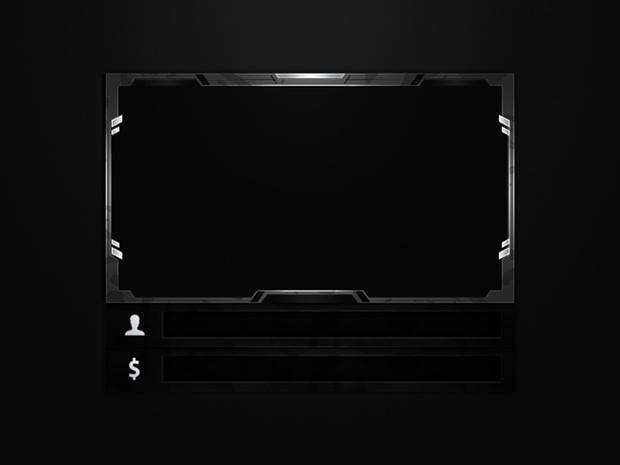 #14 Stream Twitch Cam Overlay inkl. (5 Styles)