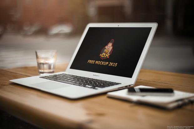 Macbook Air MockUp 2K15