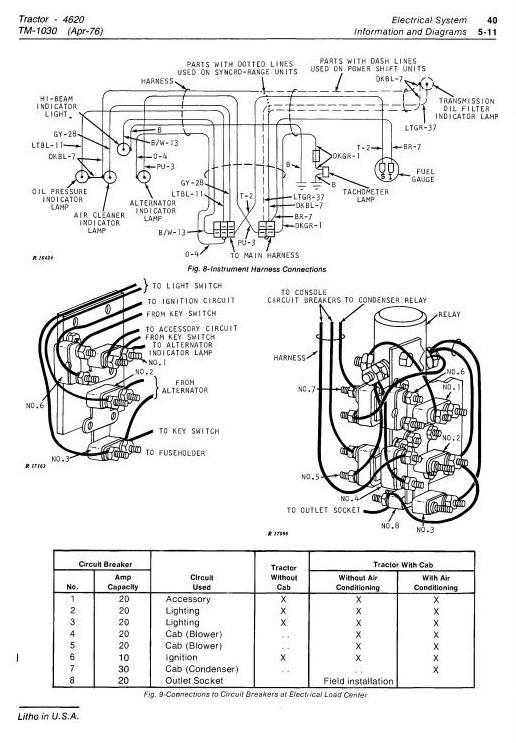 4620 Starter Wiring Schematic - Wiring Diagram G11 on john deere wire harness, john deere wire colors, kawasaki wire schematic,