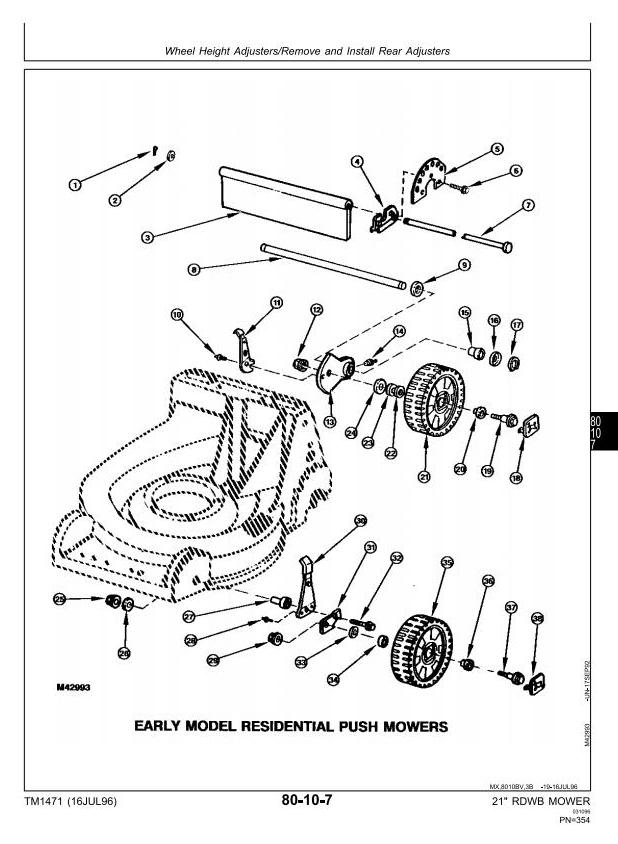John Deere 14pt Push Lawn Mower Manual