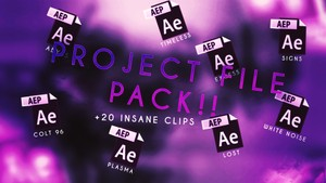 Plasma Project File Pack + Clips !