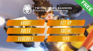 OW Menu Twitch Panels