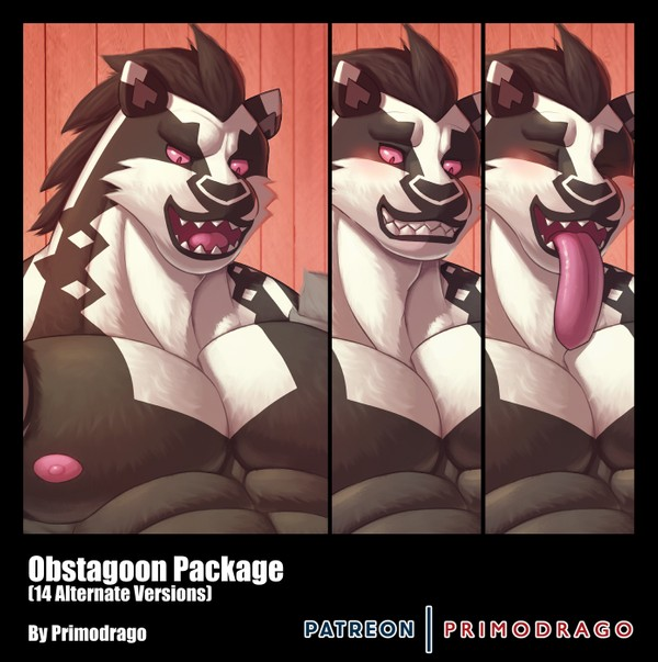 Obstagoon Artpack