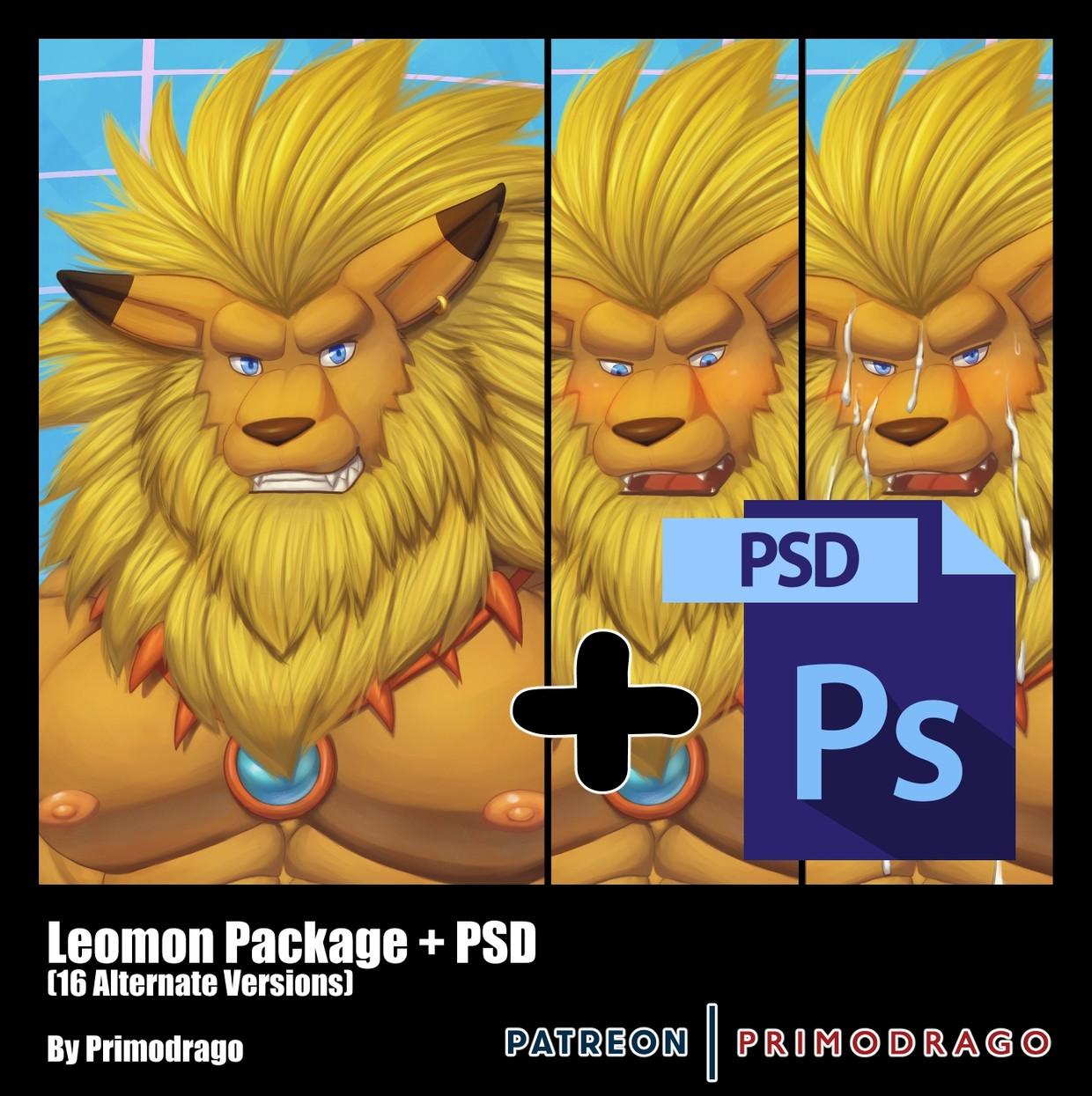 Leomon Artpack + PSD File
