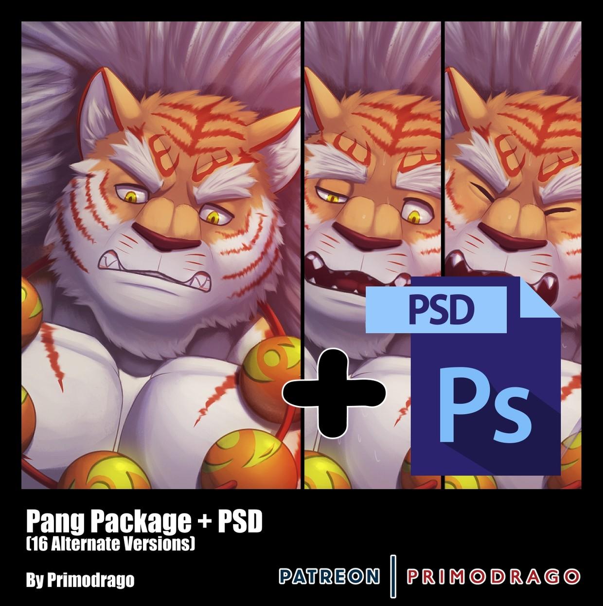 Pang Artpack + PSD File