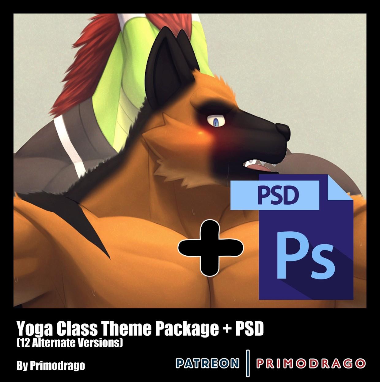 Yoga Class + PSD File