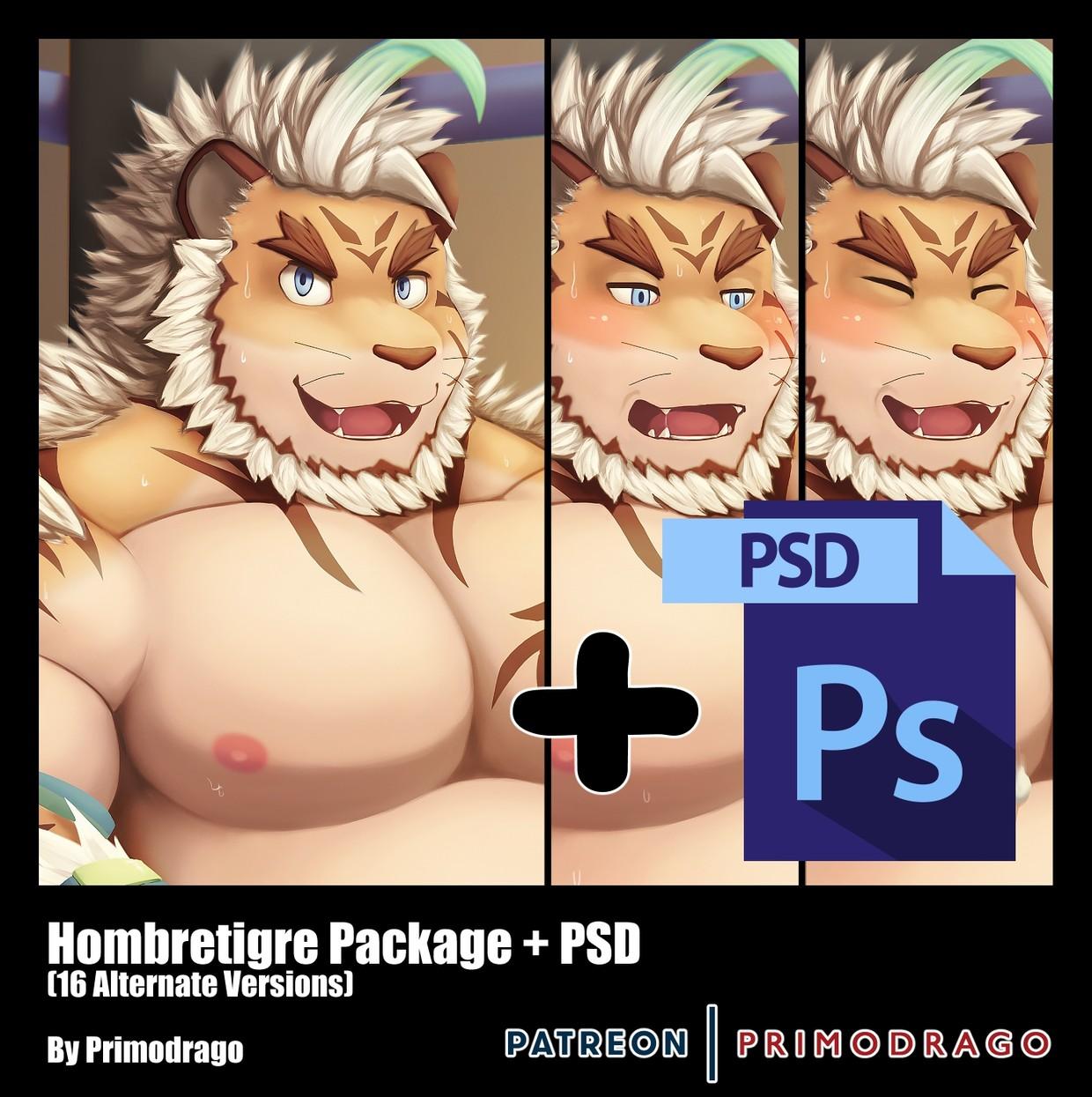 Hombretigre Artpack + PSD File