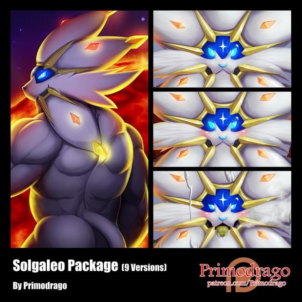 Solgaleo Artworks Package