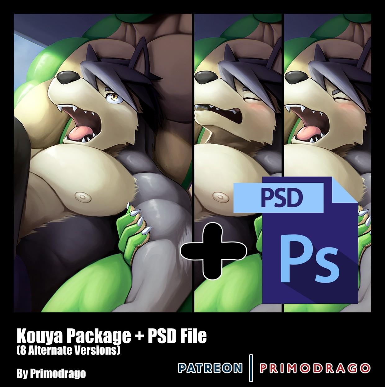 Kouya Artpack + PSD File