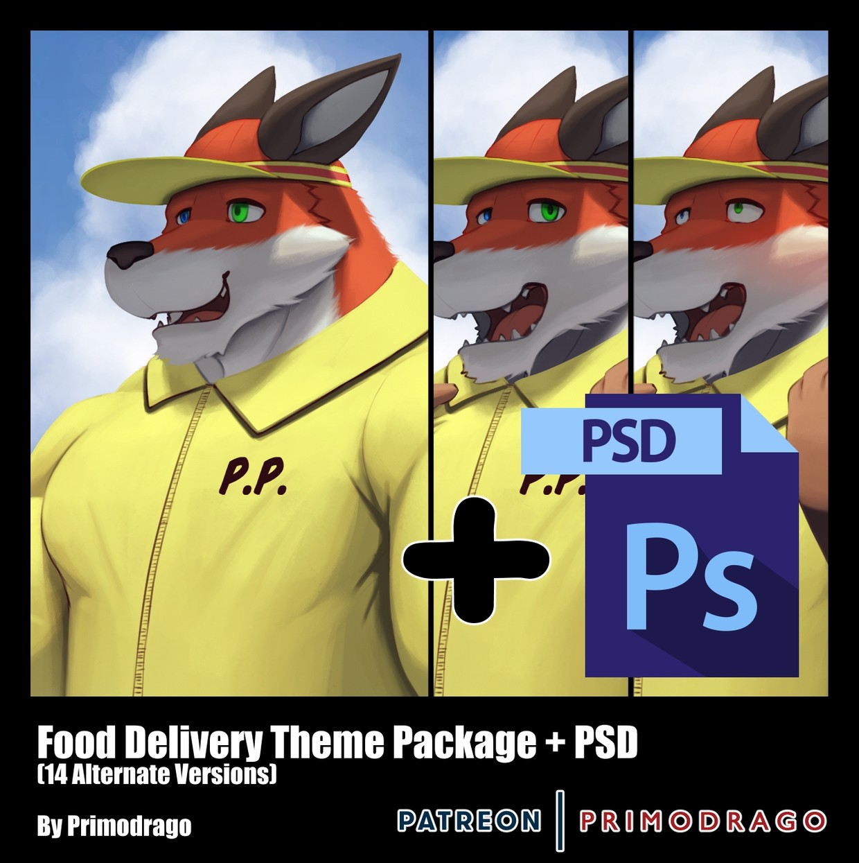 Food Delivery Theme + PSD File