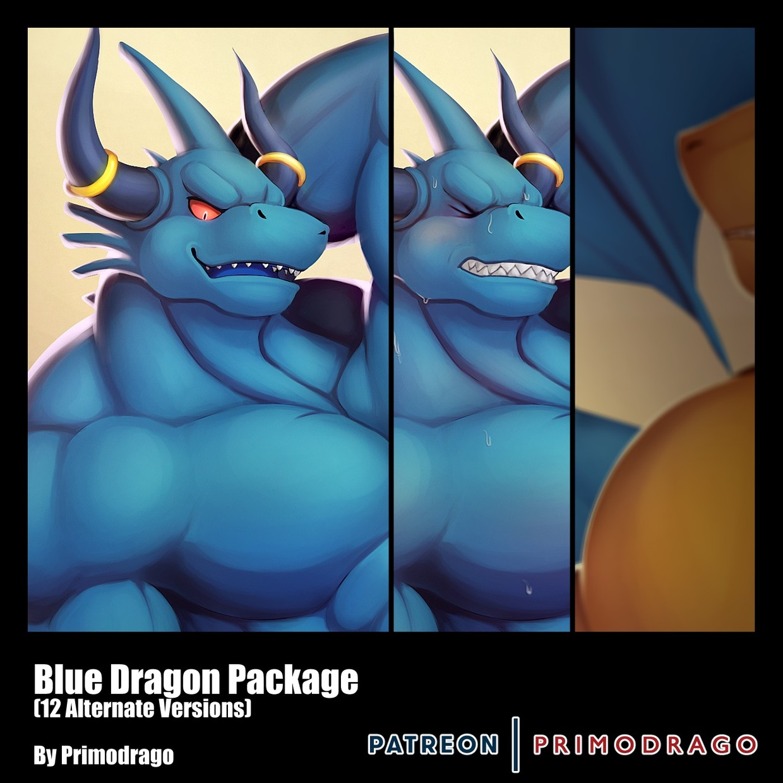 Blue Dragon Artpack