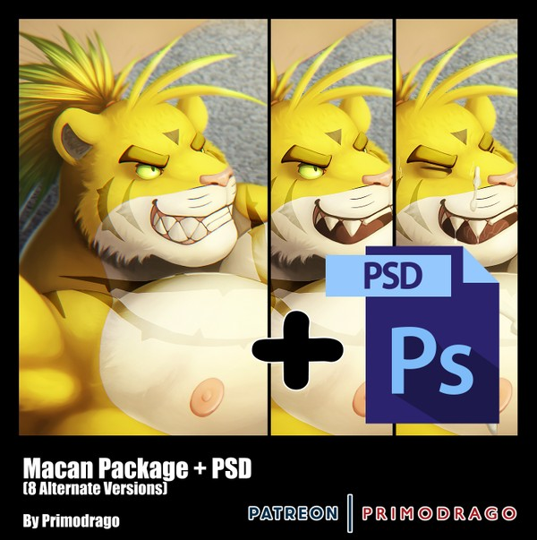 Macan Artpack + PSD File